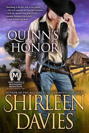 Quinn's Honor by Shirleen Davies