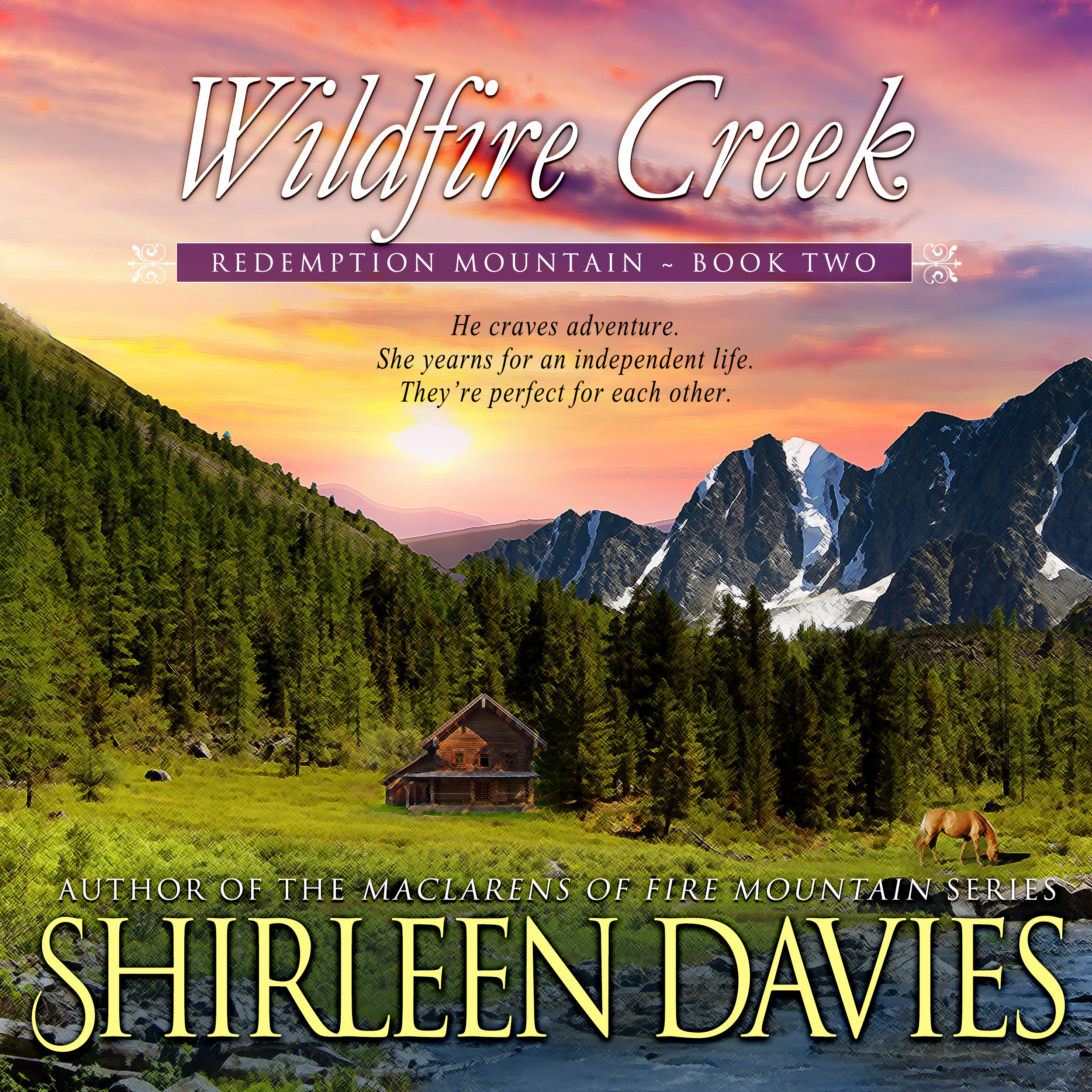 Wildfire Creek audiobook by Shirleen Davies